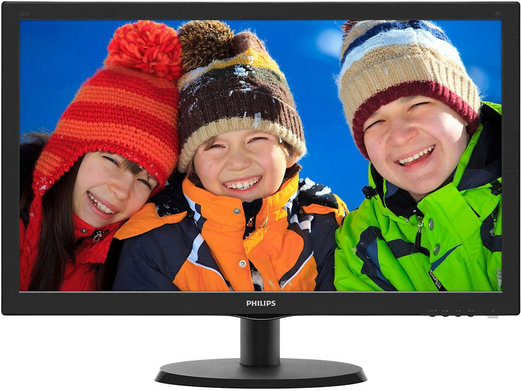 "Монитор 22"" Philips 223V5LHSB2 Black LED TFT"